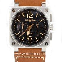 Bell & Ross BR 03-94 Chronographe Golden Heritage BR0394-S...