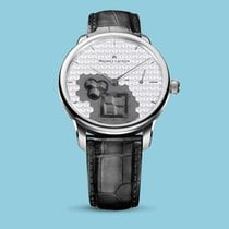 Maurice Lacroix MASTERPIECE Square Wheel Index silber-grau...