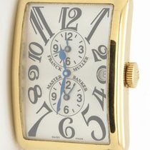 Franck Muller Long Island Master Banker 1200mb 18k Yellow Gold...