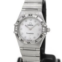 Omega Constellation, Mother of Pearl Dial w Diamond index
