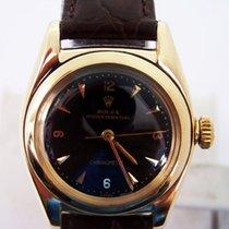 Rolex Vintaged 14k Bubble Back Automatic Watch 1940s Ref 3131