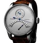 Azimuth Regulateur Retrograde Minutes Rrm Watch Silver Dial...