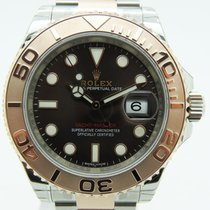 롤렉스 (Rolex) Yacht Master Rose Gold Chocolate dial 116621
