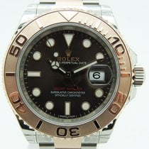 Rolex Yacht Master Rose Gold Chocolate dial 116621