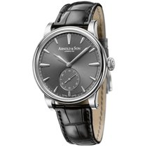 Arnold & Son HMS1 Stainless Steel Grey Dial