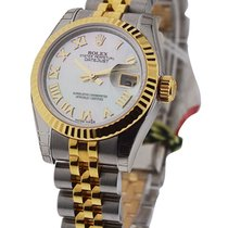 Rolex Unworn 179173 Datejust Ladies Steel and YG Ref 179173 -...