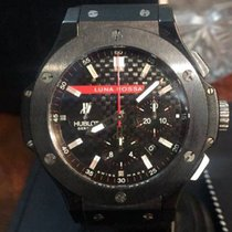 Hublot Big Bang Luna Rossa Black Carbon Fiber Dial Automatic...