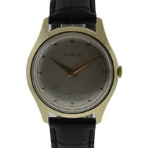 Gübelin Vintage 14kt Yellow Gold Manual Wind Mens Watch