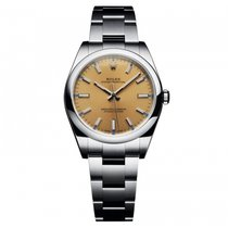 Rolex Oyster Perpetual No Date 34mm Stainless Steel 114200...