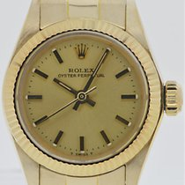 Rolex Oyster Perpetual Lady 18k Gelbgold Ref. 6719
