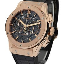 Hublot 525.OX.0180.LR Classic Fusion 45 mm Chronograph in Rose...