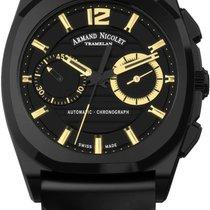 Armand Nicolet J09 Chronograph NEW FULL SET