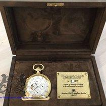 IWC Savonette 18K Pocket Watch Full Calendar  Moon Phase B...