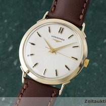 Longines 14k (0,585) Gold Handaufzug Herrenuhr 415c363 Vintage...