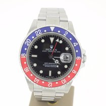 Rolex GMT-Master II Steel 40mm PEPSI (BOXonly2001) MINT
