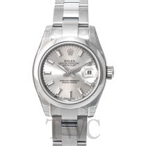 Rolex Lady Datejust Silver Dial Oyster Bracelet - 179160