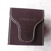 Audemars Piguet Reisebox aus dunkelbraunem Leder