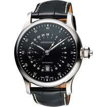 Longines Heritage Avigation Black Dial Automatic Men's Watch
