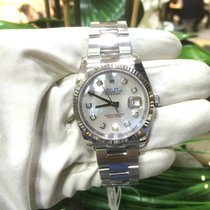 Rolex DateJust 116234 Automatic 18k Bezel MOP+Diamonds Dial