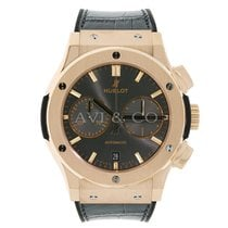 Hublot Classic Fusion Racing Grey 18K Rose Gold Chronograph