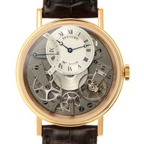 Breguet Tradition 18k Rose Gold Silver Automatic 7097BR/G1/9WU