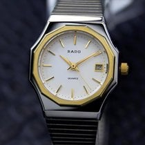 라도 (Rado) Ladies Swiss Made Quartz Dress Watch With Gold...