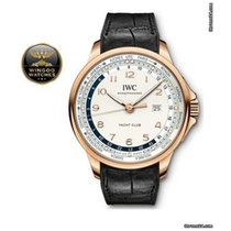 IWC - Portoghese Yacht Club Worldtimer Red Gold 18K Silv Ref....
