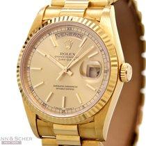 Ρολεξ (Rolex) Day-Date Double Quick Ref-18238 18k Yellow Gold...