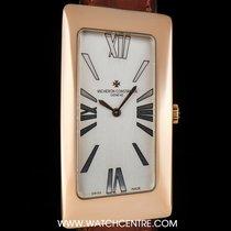 Vacheron Constantin 18k R/G Silver Dial Grande Curve Asymmetri...