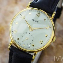 Rotary Rare 9K Solid Gold Swiss Made Vintage Classic 1940s...