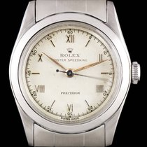 Rolex S/Steel Silver Dial Oyster Speedking Precision Vintage