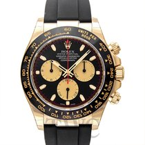 롤렉스 (Rolex) Daytona Black 18k Yellow Gold 40mm - 116518LN