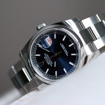 Rolex OYSTER PERPETUAL DATEJUST 36 mm blue dial