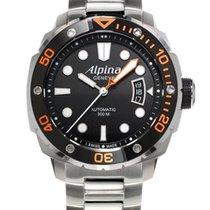 Alpina Extreme Orange Diver Stahlband LP 1.395€ VHB