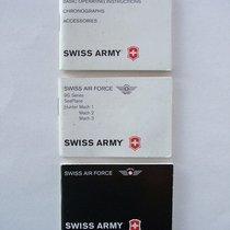 Swiss Timer SWISS ARMY - Libretti di corredo