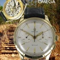 Omega Chronograph Gelbgold