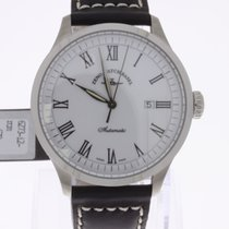 Zeno-Watch Basel Godat Automatic White NEW
