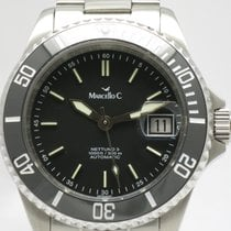 "Marcello C. ""Nettuno 3"" Matt black dail/ceremic bezel...."