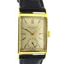 Patek Philippe Vintage Gold rectangular from 1948