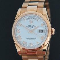 Ρολεξ (Rolex) Oyster Perpetual Day-Date Rose Gold NOS