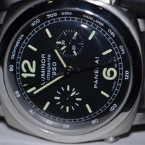 Panerai Luminor 1950 Rattrapante Chronograph PAM 213 Steel...