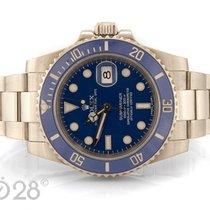 Rolex Submariner Date 116619LB Weißgold Blue Dial  2011 LC100