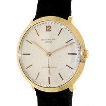 Patek Philippe Calatrava 2572 Vintage Yellow Gold, Leather