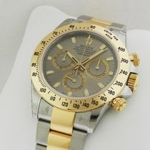Rolex Daytona 116523 Grey Dial Steel and Gold Box & Papers