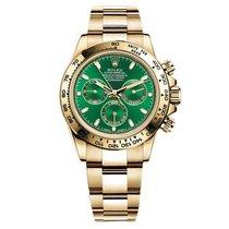 Rolex Daytona Yellow Gold Green Dial - 116508