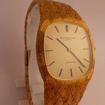 Audemars Piguet - Extra-flat gold wristwatch for men - From...
