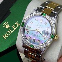 Rolex Diamond Rolex Datejust 36mm Stainless Steel Oyster 2...