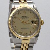 Rolex Datejust 36mm Gold Steel Box+Papers+Service Rolex