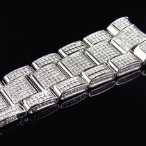 Rolex Mens Rolex Datejust II 41mm Pave Set Diamond Band with 9...