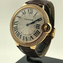 Cartier Ballon Bleu 40mm factory diamonds NEW WE902055